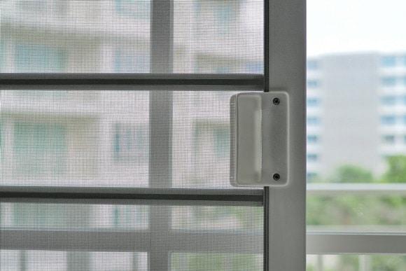 Mesh door — Locksmith in Cairns, QLD